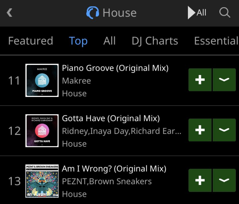 Thank you for supporting our latest releases on the label from @_makree and @ridney @INAYADAY & @richardearnshaw    they can both hit the top 10 @traxsource House Chart!  Piano Groove - http://smarturl.it/LTBH092 Gotta Have - http://smarturl.it/LTBH093pic.twitter.com/6x7mU73Uf2