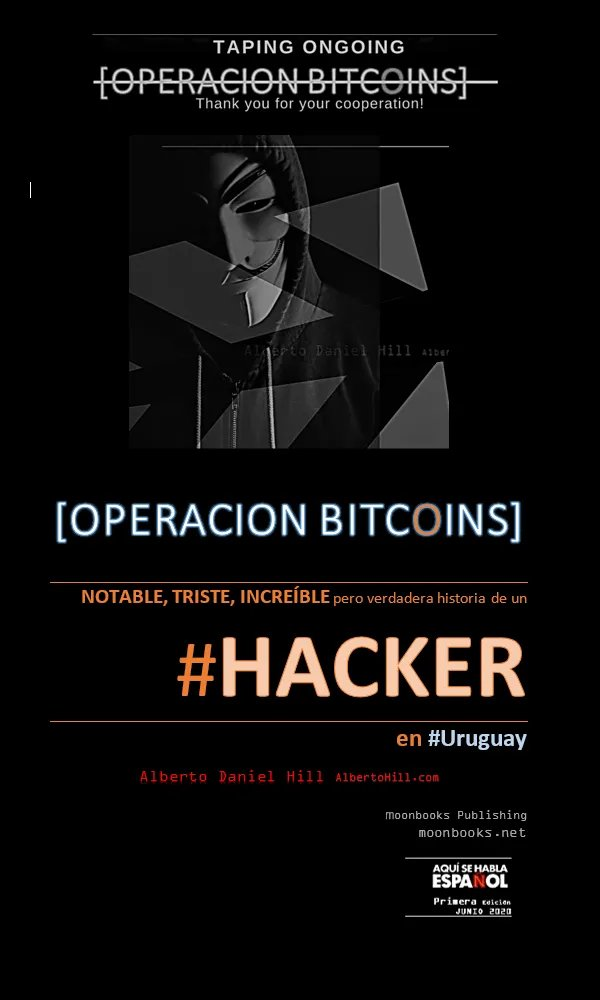 slowly being shaped... #book #hacker #story #uruguay #cybersecurity #Bitcoin #interpol #prison #amazing #sad #incredible yet true....pic.twitter.com/OikaSCRH1Y