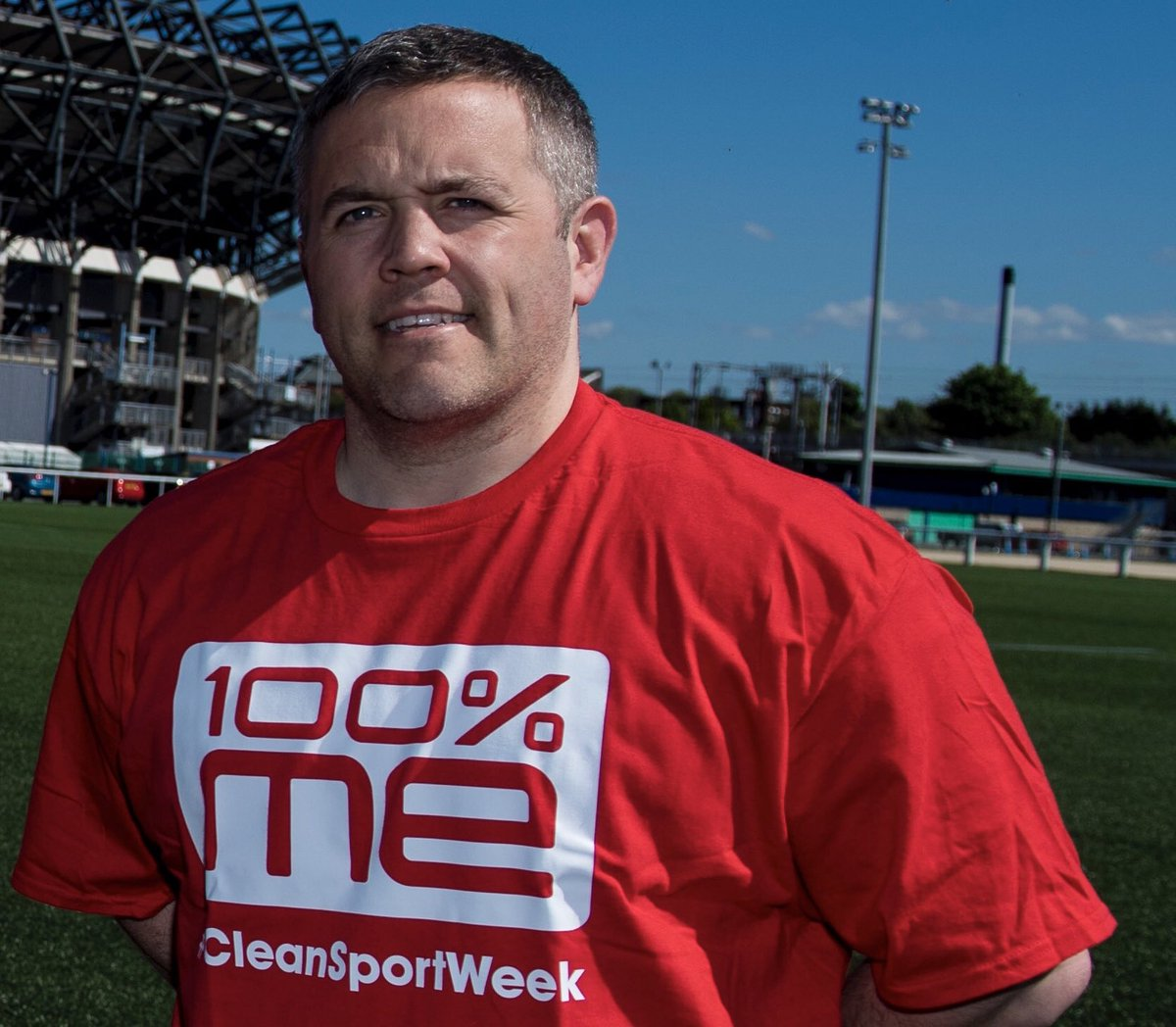 """💬 """"It's important our players understand the role they play in promoting clean sport. Through our education workshops we're able to give them information to allow them to make well-informed choices."""" Richard Wood, Scottish Rugby's Medical Services Manager. #CleanSportWeek"""