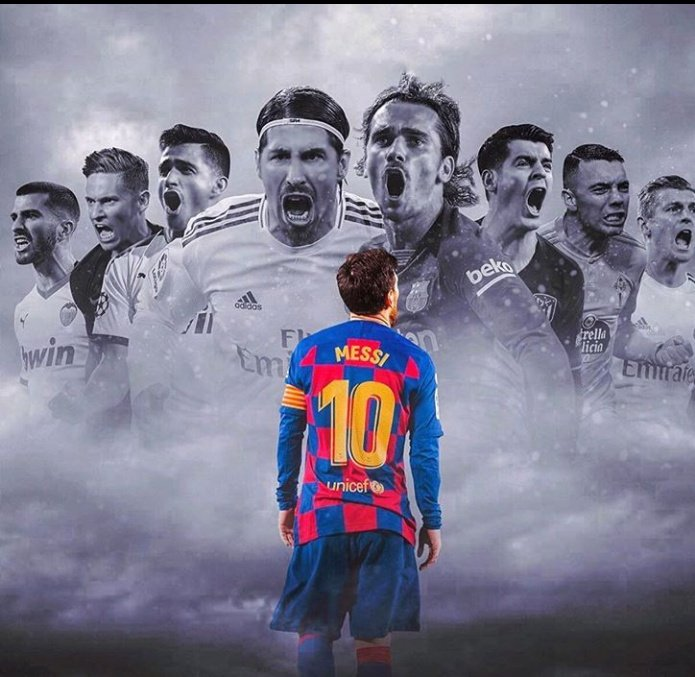 Messi : Are you ready for #LaLiga   Them: yeaaaahhhh pic.twitter.com/AjLbQAtFoM