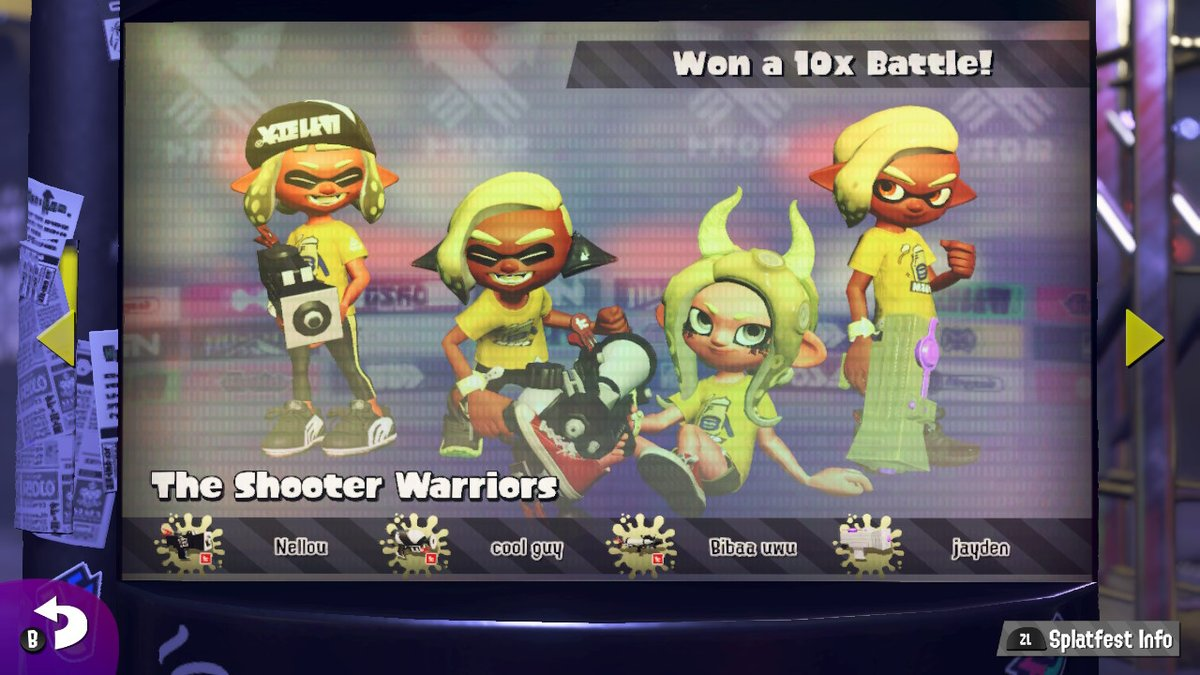 #Splatoon2 #NintendoSwitch AYO KETTRASH!!!!!  (im cool guy btw)