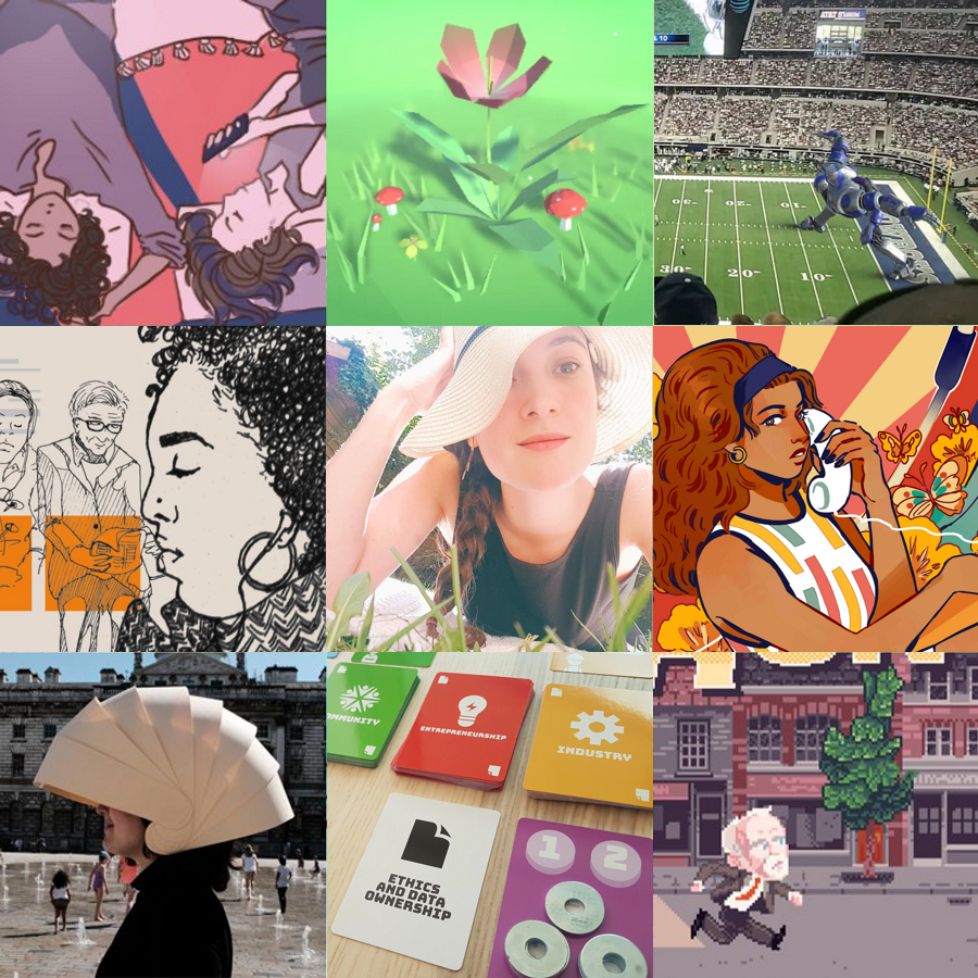 Hi, I'm Rosa, your friendly game designer. 💖  I try to make the world a better place with my games (and my tweets). ✨  Deep game design, games for change, and games about mental health are my speciality.  Why don't I show you some of the stuff I've done?  👇 https://t.co/kTdZXO26T1