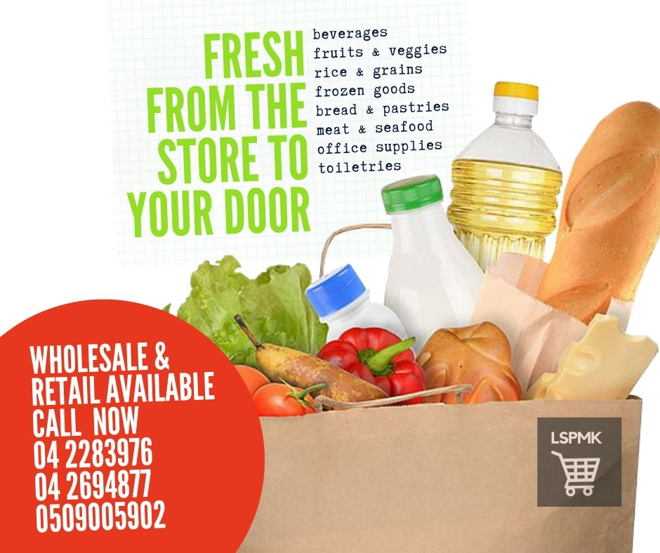 Skip the lines and avoid the crowd! We bring you groceries fresh from the store to your door. Call 04 2283976 / 04 2694877 / 0509005902 #groceries #lspmksuperfasttrading #groceryneeds #shopping #LSPMK #mydubai #groceryshopping #freedelivery #dubaifoodies #easyshopping #PPEpic.twitter.com/xfkujthwow