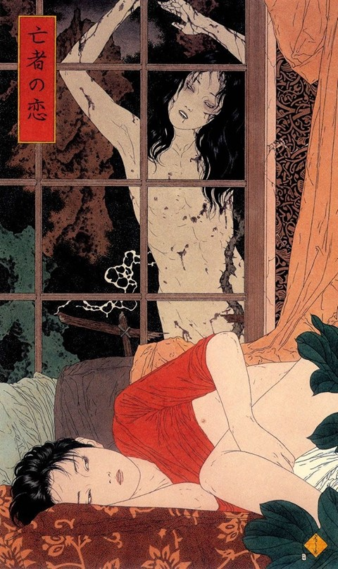 #Deathart #Japan #guro #erotic #horrorart #arte #nsfwart  Guro ; The Erotic Horror Art Of The Japanese Rebellion ~   Enjoy ~ Beauticool's ~pic.twitter.com/pOB7fnMy8F