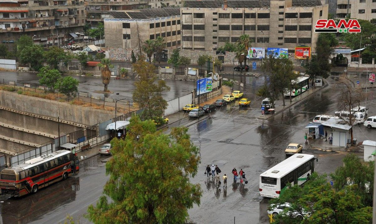 #Damascus rain early this morning #Eid #Syria