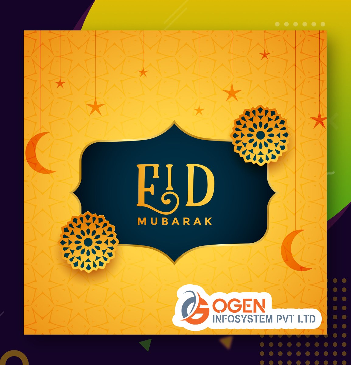 May this Eid bring joy and love to your heart and create all the opportunities of success for you! Eid Mubarak.  #eidmubarak #happyeid #edi2020 https://t.co/RNmkqlKyBI