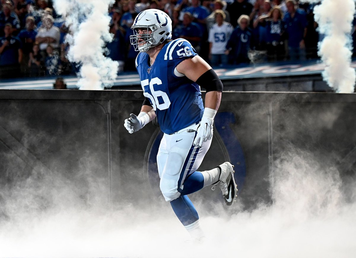 The only offensive lineman in NFL history (Post-Merger) to be a 2x First-Team All-Pro his first two seasons:  #Colts Quenton Nelson<br>http://pic.twitter.com/AE2gQ0zA3T