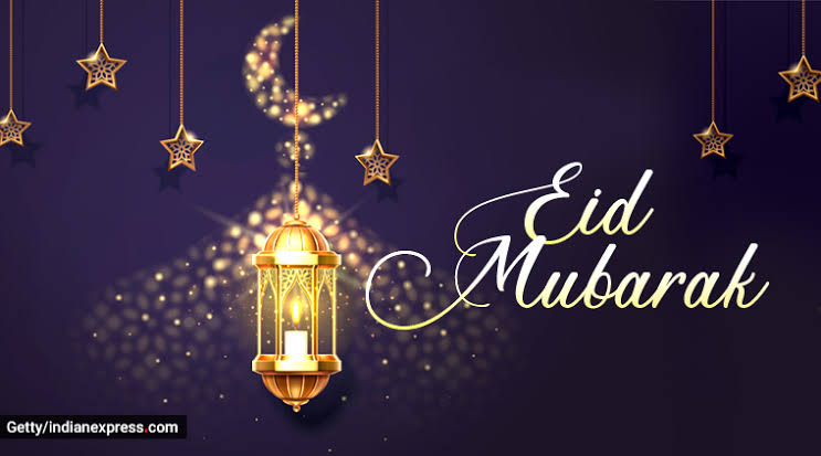 Eid Mubarak to everyone! May this Eid brings happiness, peace and prosperity in everyone's life!<br>http://pic.twitter.com/3SkoZh8tKk