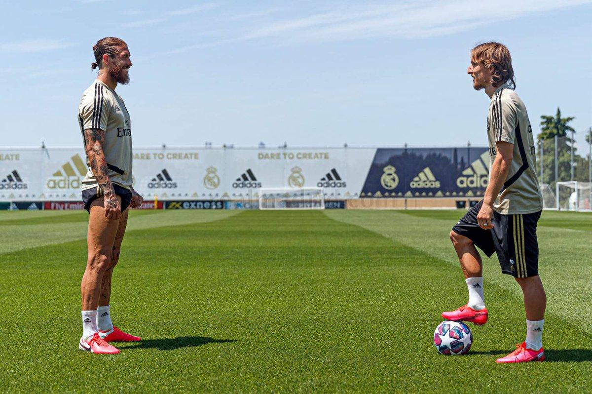 La asistencia de Lukita Modric, el cabezazo de Sergio Ramos. La conexión que cambió la historia moderna del Real Madrid Club de Fútbol. GOL LEGENDARIO.