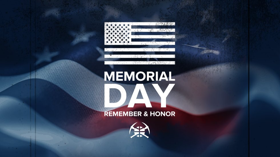 For those who served and made the ultimate sacrifice. 🇺🇸  #MileHighBasketball https://t.co/Ar5a9OH5Rd