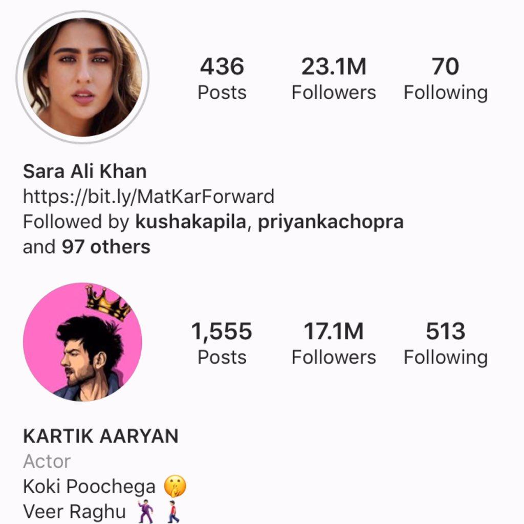And it's happening again @TheAaryanKartik #SaraAliKhan pic.twitter.com/KOdpVtaIAi