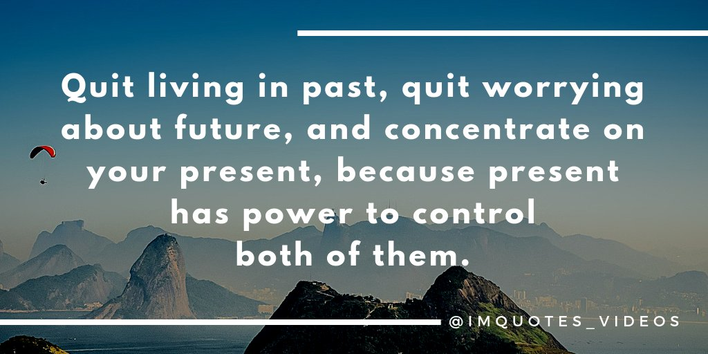 Let go of the past, plan for the future without worry, live in the present.  #SundayMotivation <br>http://pic.twitter.com/phJmwEjYIW