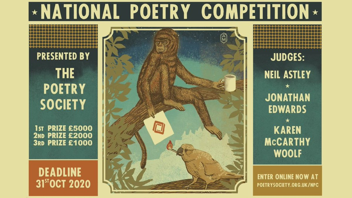 test Twitter Media - Enter the National Poetry Competition and you could win a first prize of £5000, and publication in The Poetry Review. https://t.co/JZ5hJT2nt1 https://t.co/JCrkSGkOlC
