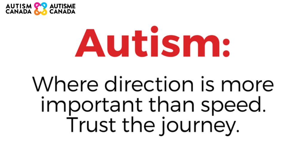 Take the time to slow down and trust the journey.   #autism #autismcanada #seethespectrumdifferently #donations #charity #nonprofit #help #love #giveback #change #giving #hopepic.twitter.com/a1gqIRIAnR