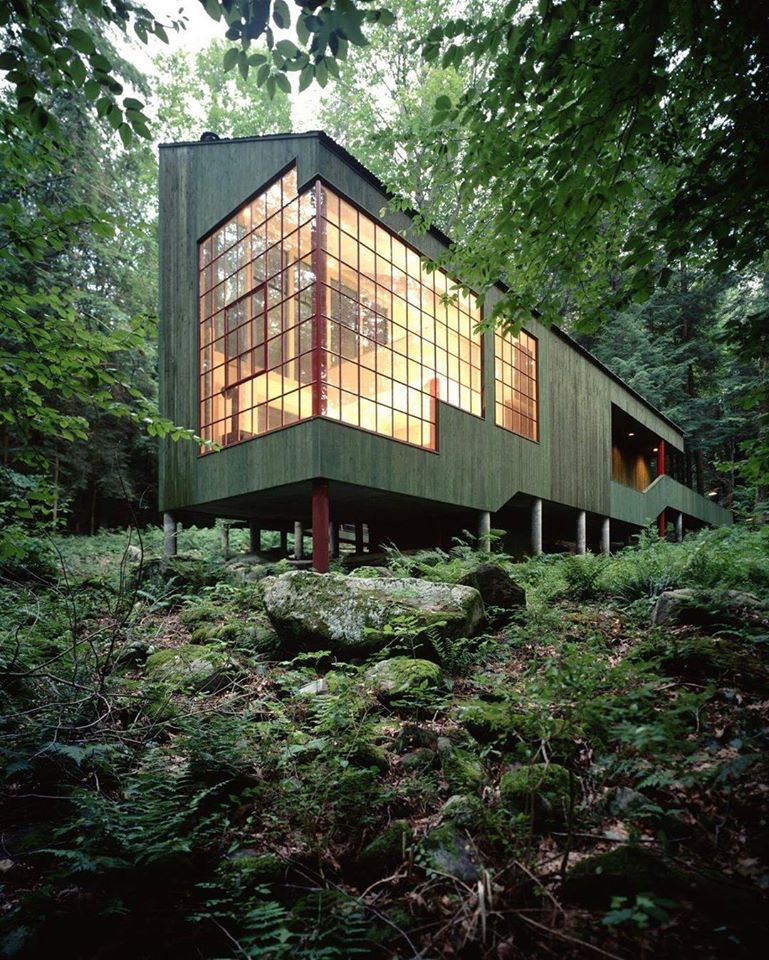Forest House, West Cornwall, Connecticut, 1973-75 Designed by Bohlin C. Jackson #architecture pic.twitter.com/ZxBQtr0Rtt