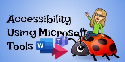 TUESDAY May 26th 1pm Accessibility with Microsoft Teams Join at cue.org/microsoft #MicrosoftEDU #GETA #WeAreCUE