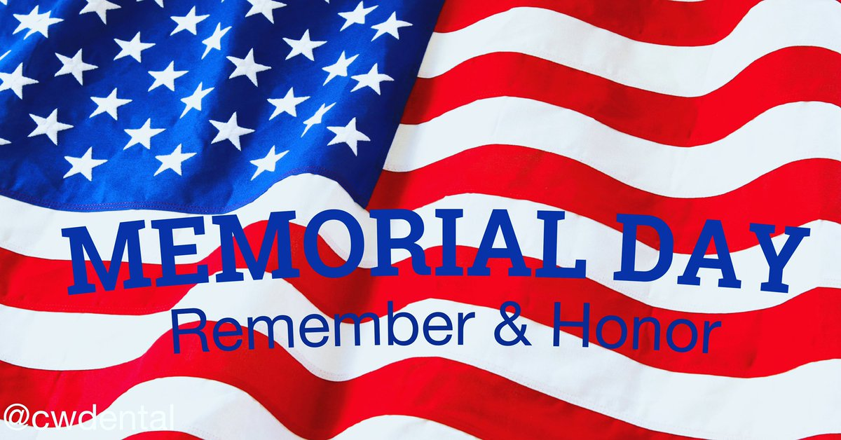 Help us Honor the Men and Women who served our Great Nation!  -Dr. Tad and Team. 954-345-5200  #MemorialDay #SouthFlorida #Dentist #DrTad #DentalImplants #Implant #Implant #SmileMakeOver #CoralSprings #CoconutCreek #Parkland #teethwhitening #bestsmileever #AllOn4 #TeethInADaypic.twitter.com/PcjHUcbhWv