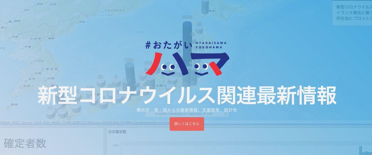 横浜市区別感染者数
