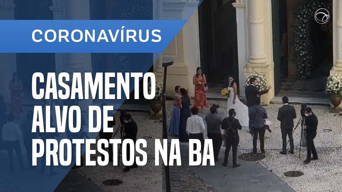 CASAMENTO É ALVO DE PROTESTOS NA BAHIA