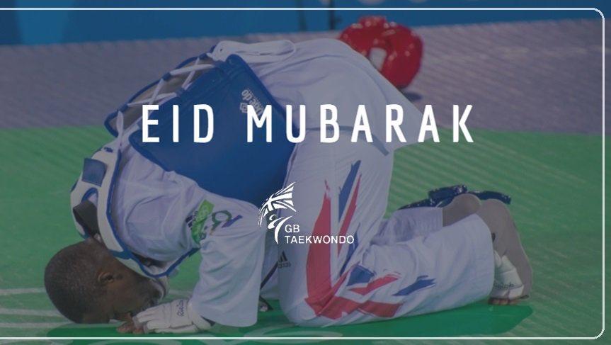 Eid Mubarak to all of our Muslim followers 🌙✨ We wish you a joyous day, from everyone at @GBTaekwondo! #EidMubarak #EidalFitr