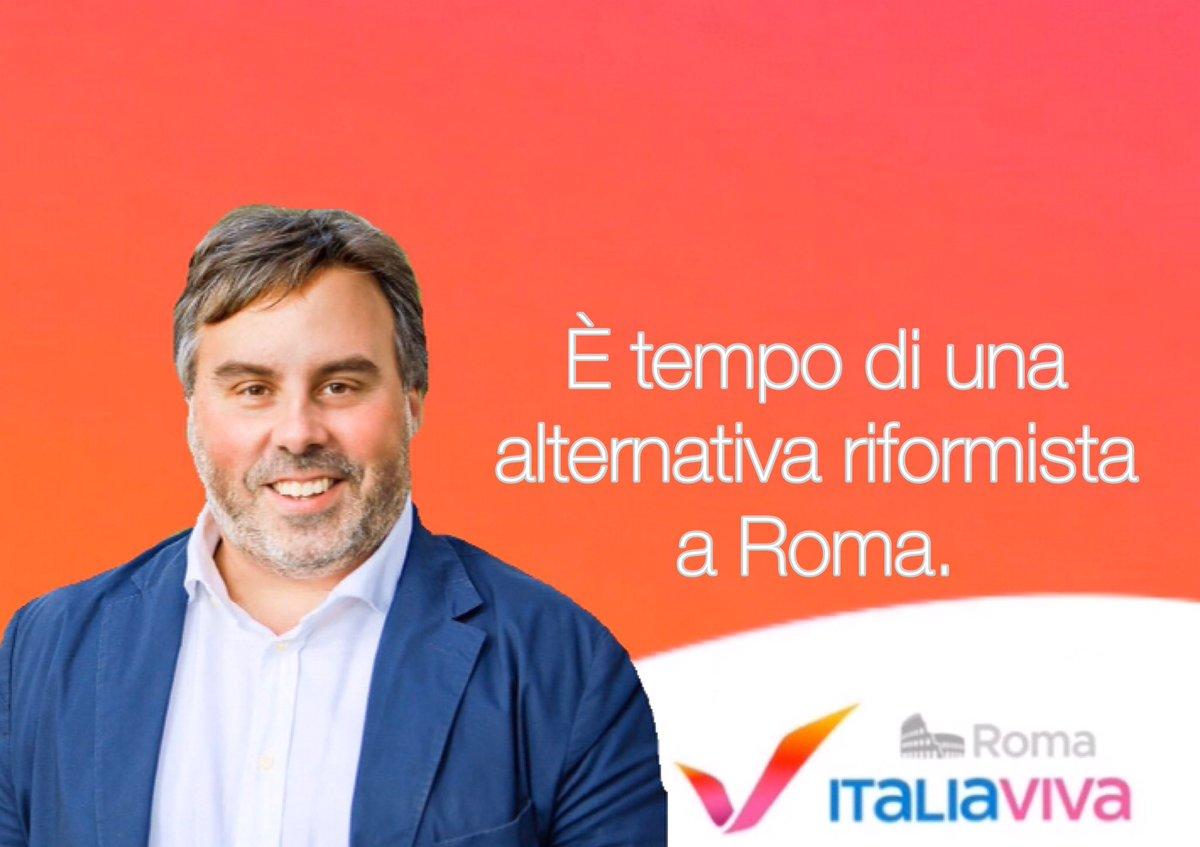 Tra un anno #Roma sceglierà chi la dovrà amministrare dopo il disastro #Raggi. #ItaliaViva Roma è in campo per costruire una alternativa riformista al populismo qualunquista. Avanti, #insieme. pic.twitter.com/3KyovcNvox