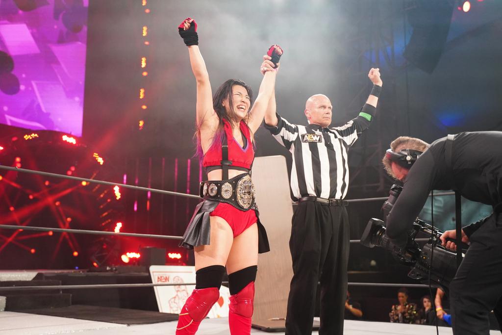 Novo campeão foi coroado no AEW Double or Nothing