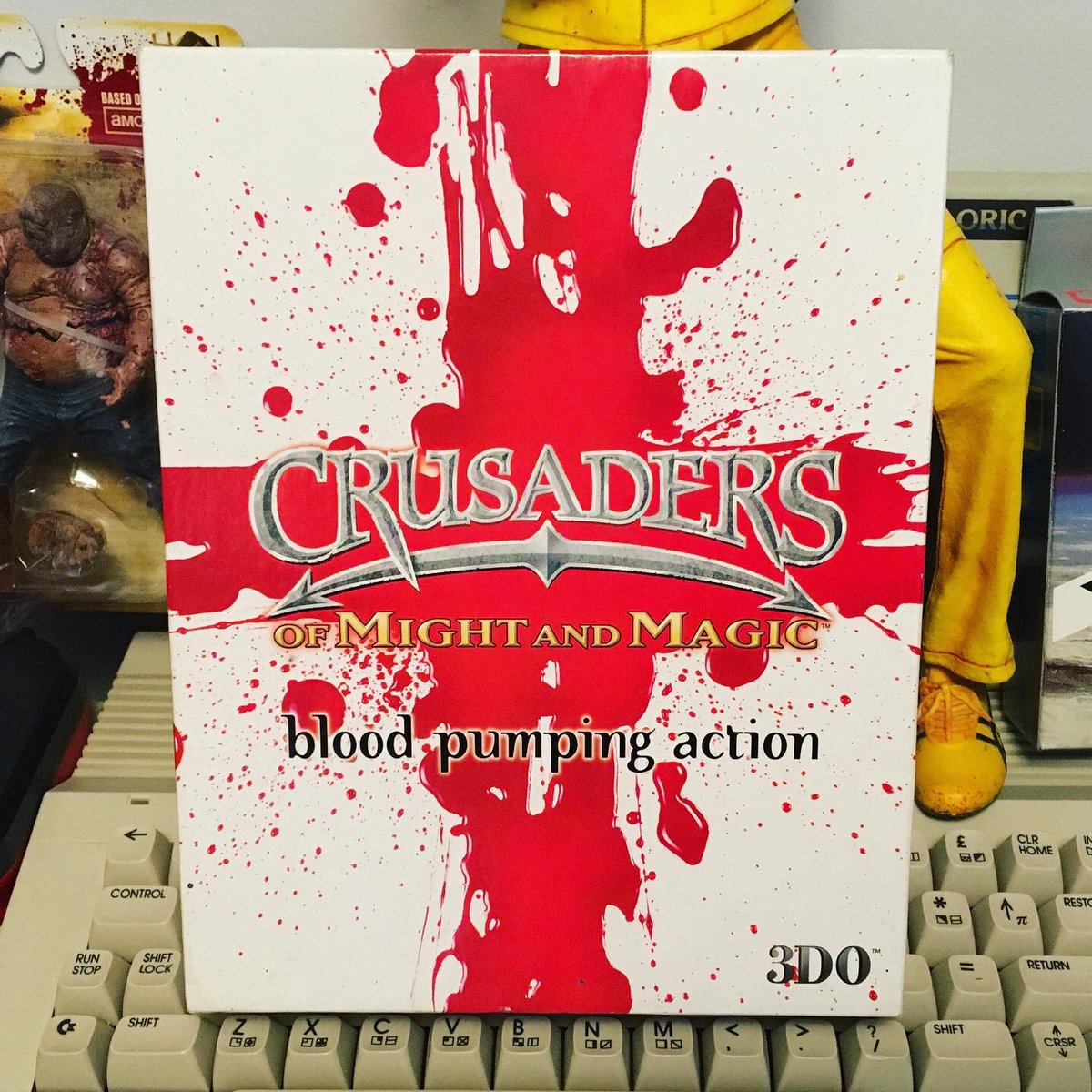 Crusaders of Might and Magic - 3DO - PC Action Role-playing Game - 1999 #crusadersofmightandmagic #roleplayinggame #retrogaming #retrogamer #retrogames #pc #pcgames #3do #gameroom #collectibles #popculture #windows98 #mightandmagic #1990s #bigboxgamespic.twitter.com/kyKaPPcxM7
