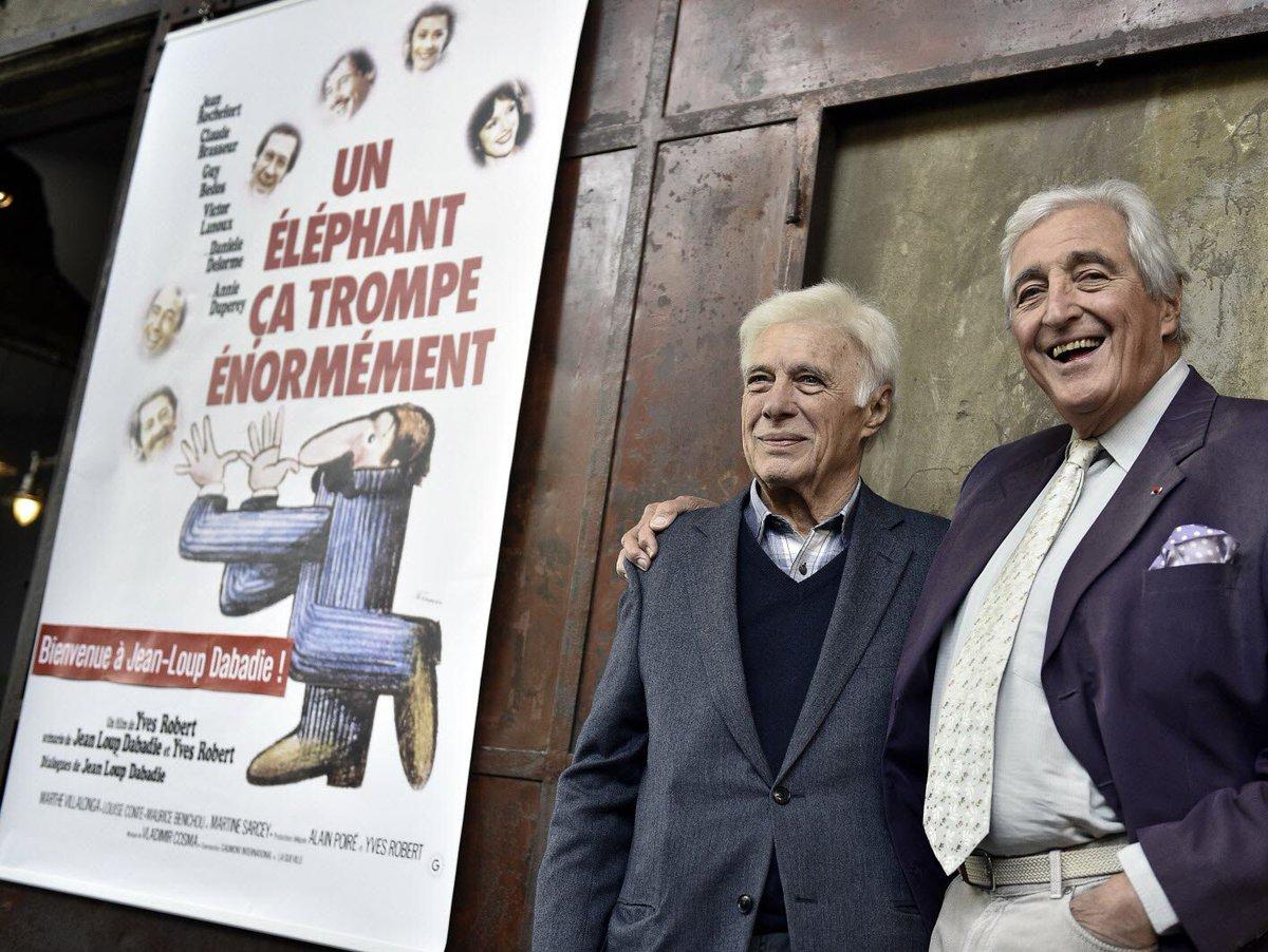 Il était venu présenter le film avec Guy Bedos à Lyon #Lumiere2016 #Dabadie @InstitutLumiere