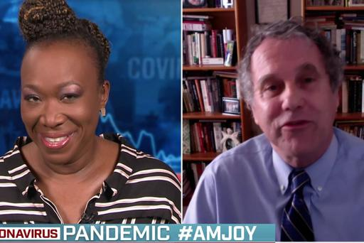COMING UP THIS #SUNDAYMORNING ON #AMJOY: @SENSHERRODBROWN SEE YOU SOON #REIDERS--10 AM ET @MSNBC
