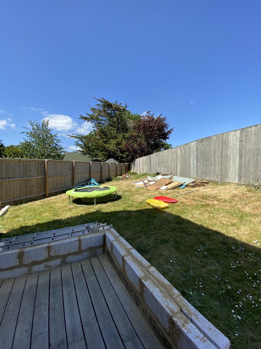 Goodbye summerhouse, hello corner garden jungle <br>http://pic.twitter.com/IiTIr6cJc6