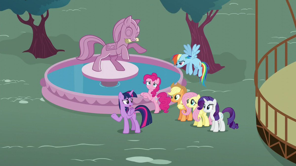 The One Where Pinkie Pie Knows<br>http://pic.twitter.com/1ZvYs9nVK6
