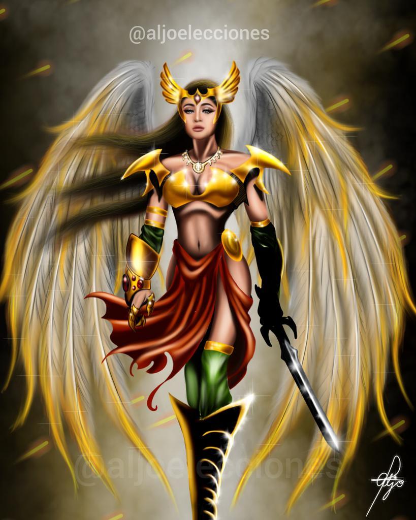 Sharing my first tweet.   NADINE LUSTRE (Woman Version) of HawkMan from Justice League   - Digital Painting by me  I hope you'll appreciate it.  #fanart #artwork #artshare #NadineLustre #superhero #drawing #digitalart #JusticeLeaguepic.twitter.com/SlA357B4S1