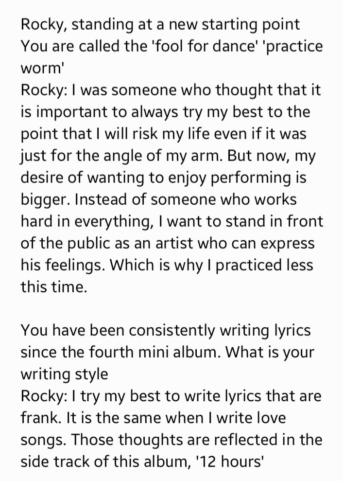 Elle interview with Rocky [English translation]   #ASTRO  #아스트로  #라키 #Rocky<br>http://pic.twitter.com/fNhnHke9Bg