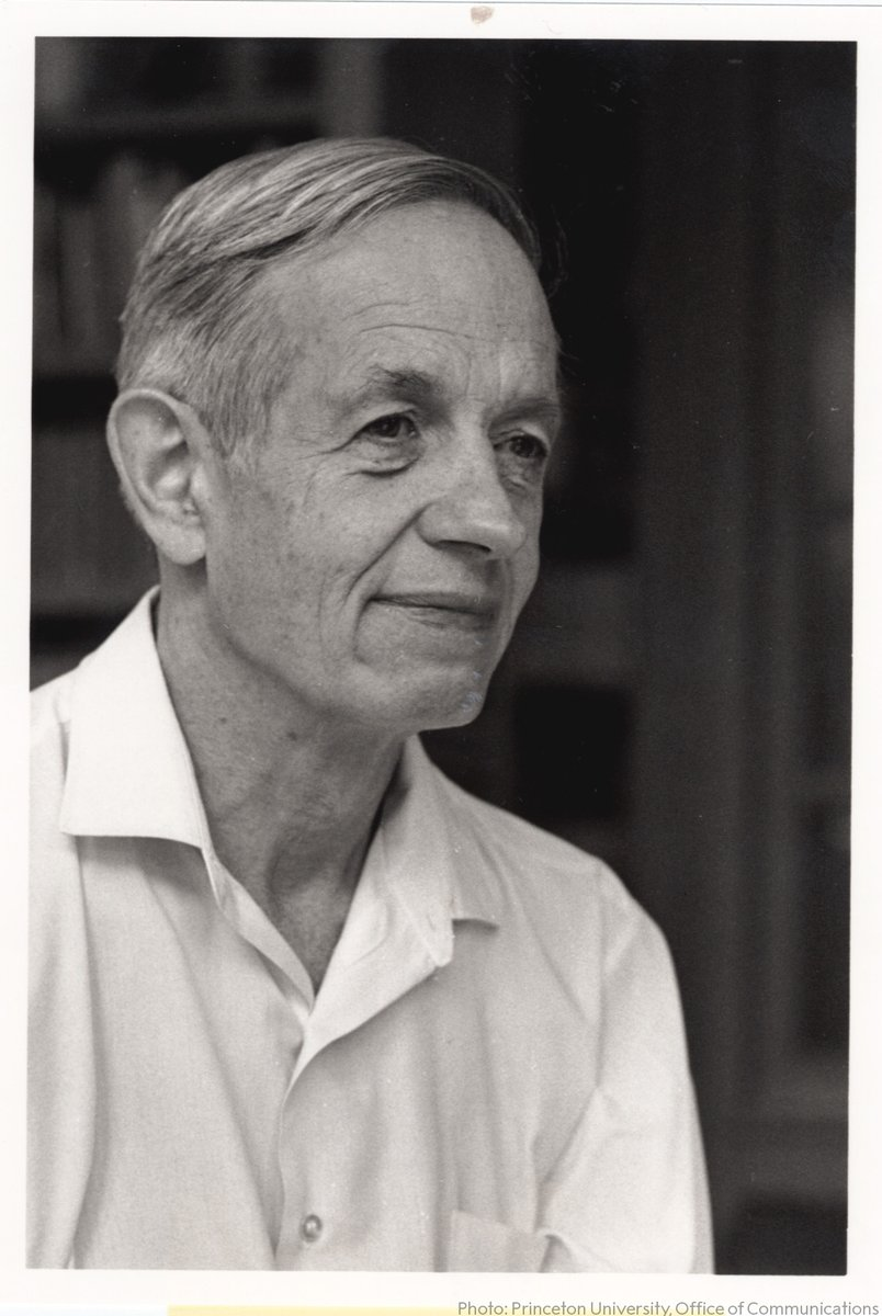 """I was affected in this way for a very long period of time, like 25 years, so it was quite a portion of a life's history.""  On #WorldSchizophreniaDay we remember Nobel Laureate John Nash, ""a mathematical genius"", awarded the Prize in Economic Sciences for his work on game theory. https://t.co/3I9ZAdSy7O"