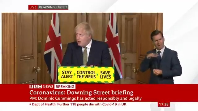 """""""I can totally get why people might feel so confused and so offended by the idea 'it's one thing for people here, and one for the others'""""   PM Boris Johnson says the measures his top aide Dominic Cummings took were legal and responsible   Latest: http://bbc.in/2Zz1cRdpic.twitter.com/ljGkCnnQUf"""