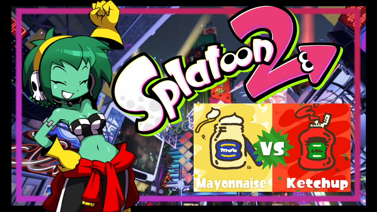 Check out the highlights (and lowlights) of my Splatfest journey to Queen!  #splatoon #splatoon2 #splatfest #ketchupvsmayo #teamketchup #teammayo #gaming #gamergirl