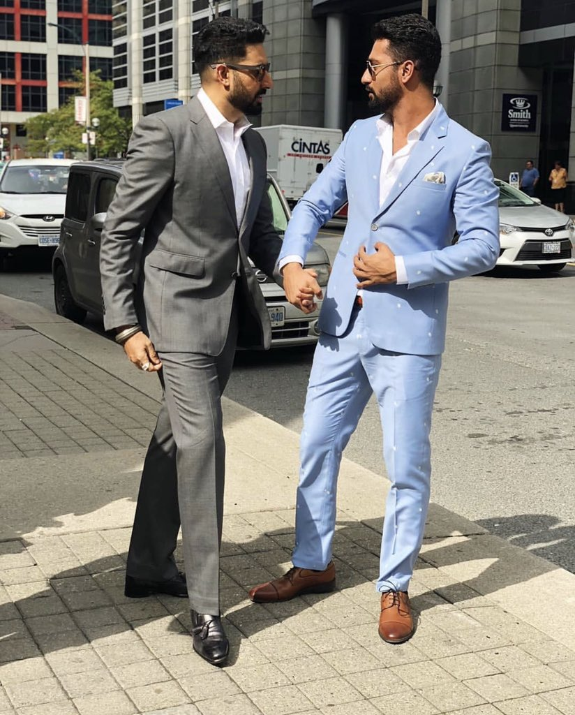 #Throwback to #AbhishekBachchan and #VickyKaushal's bromance during the promotions of #Manmarziyaan.pic.twitter.com/ZdjBlwdVUL