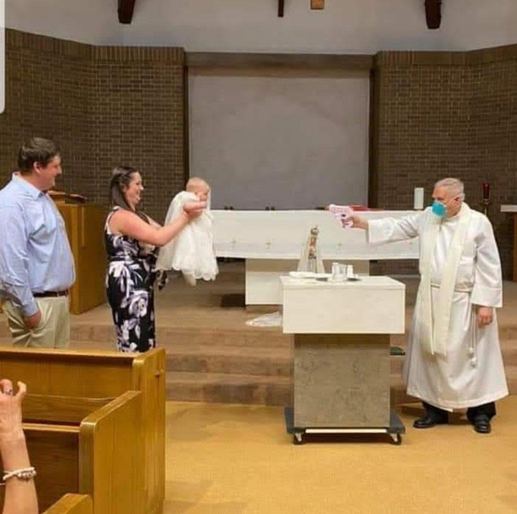Batismo em 2020 https://t.co/M4Hsqc1ZNw