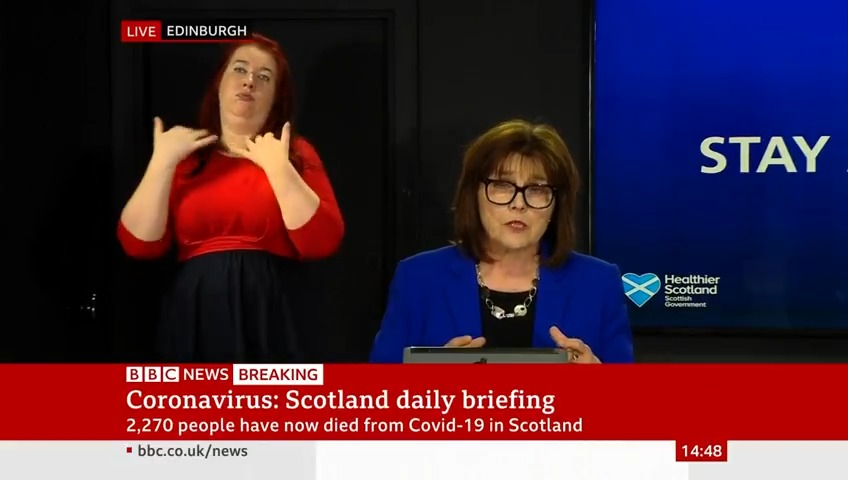 """""""If I had known everything I know now... we may have made different decisions""""  Scottish Health Secretary Jeane Freeman reacts to claims it was """"irresponsible"""" to send 921 untested hospital patients into care homes in March   https://bbc.in/3efI5jwpic.twitter.com/bPCr8iB6Tx"""
