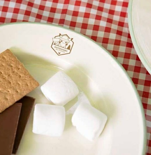 What if we went camping and ate smores while using the Pokémon outdoor camping plate set? <br>http://pic.twitter.com/7yaGARo9w6