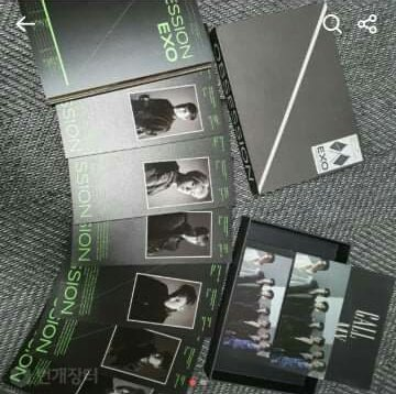 UNSEALED exo's album obsession   Complete Inclusion  500 only <br>http://pic.twitter.com/lX1R7l2bO8