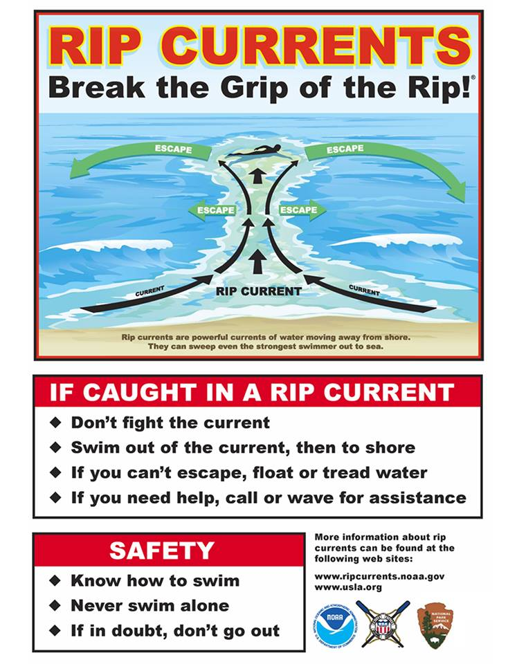 Heads-Up...Red flags flying at Sandbridge beach today, 5/24, due to rough surf along the east coast. Learn what to do, before you get caught in a rip current. weather.gov/safety/ripcurr… #RipCurrent #roughsurf #BePrepared