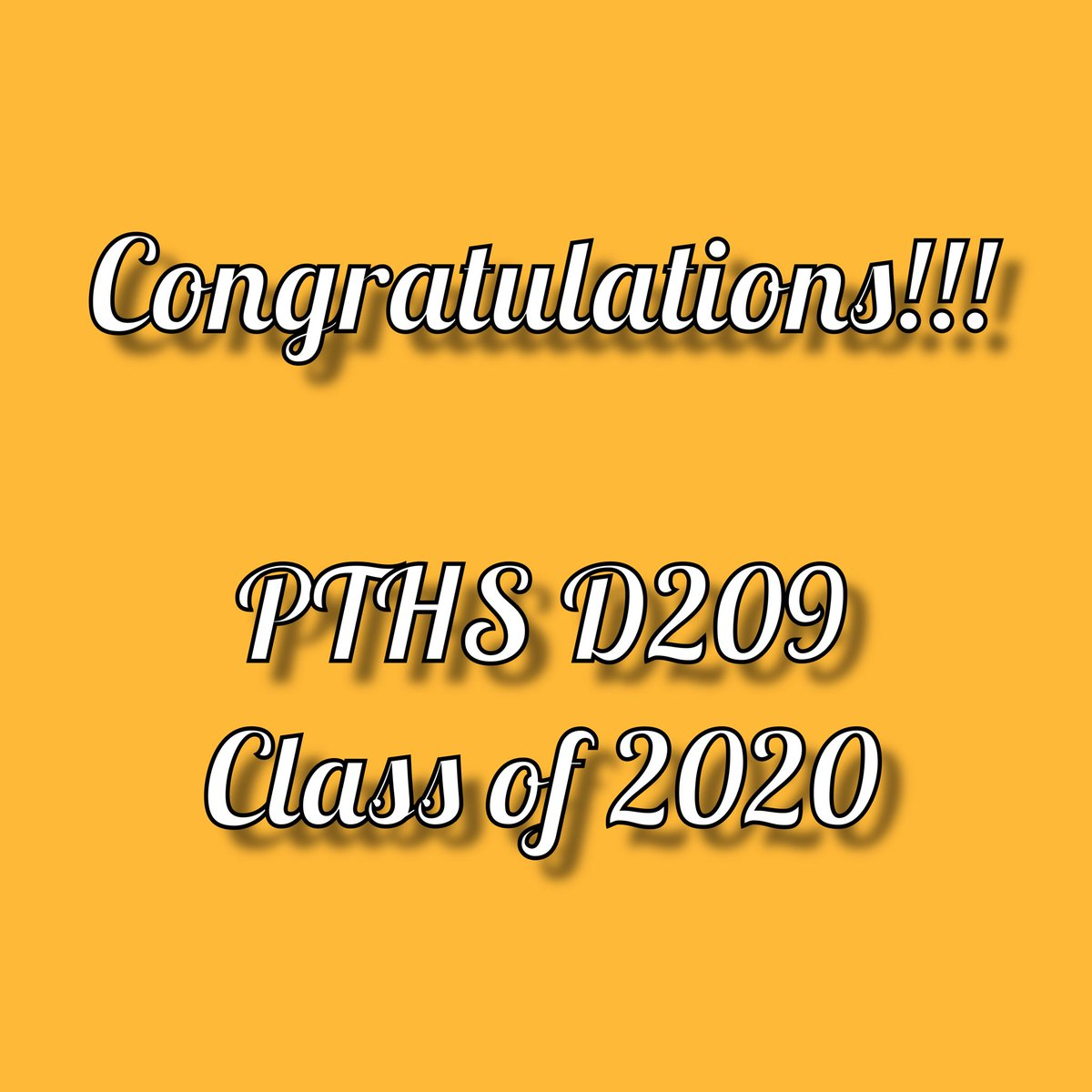 Congratulations to the Proviso Township High Schools District 209 Class of 2020!!! #OneProviso #WeNeedYou pic.twitter.com/BVRfsE9nP9