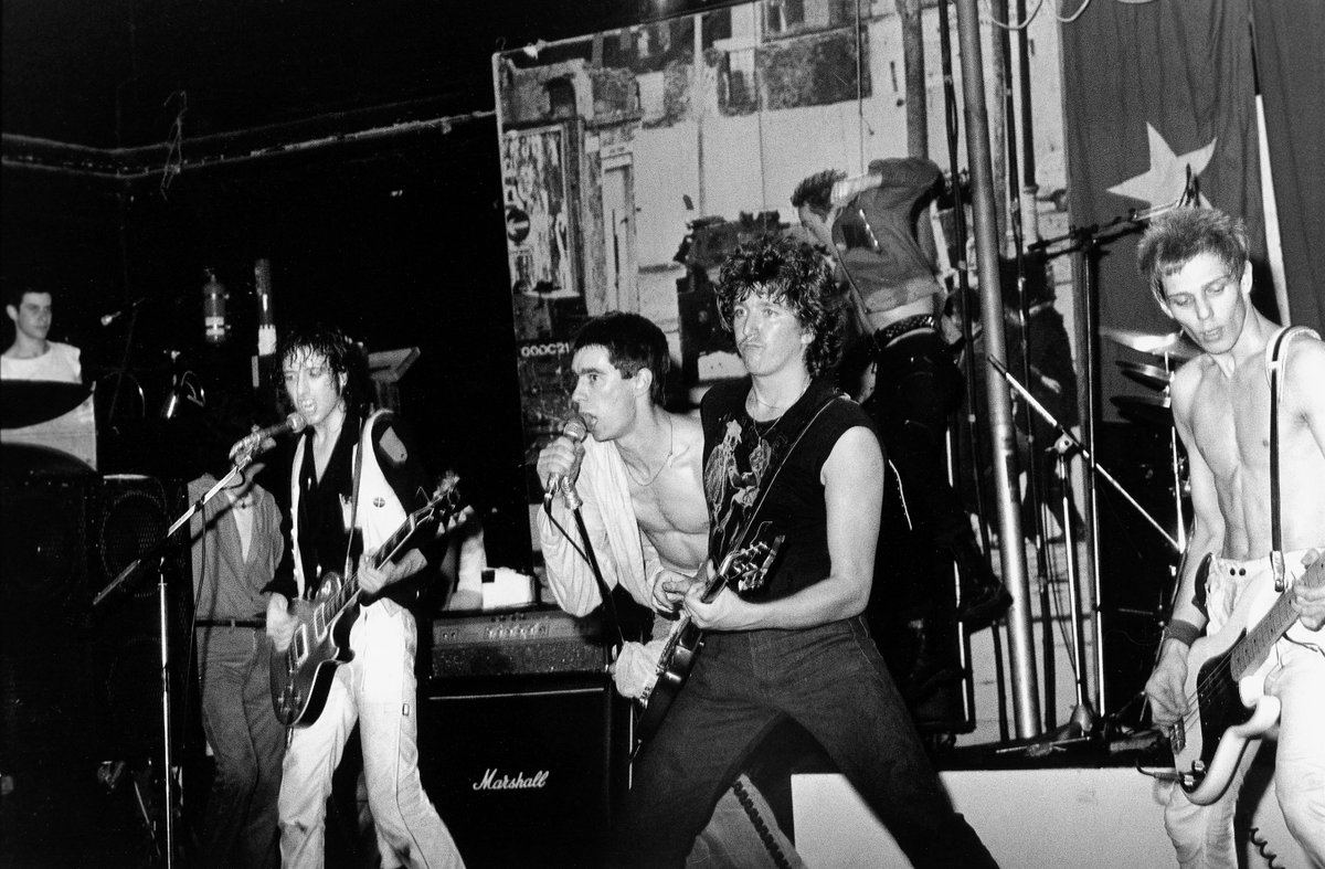 The Clash with Jimmy Pursey & Steve Jones, 1979.  Jannete Beckman.pic.twitter.com/Nuhb56hB5g