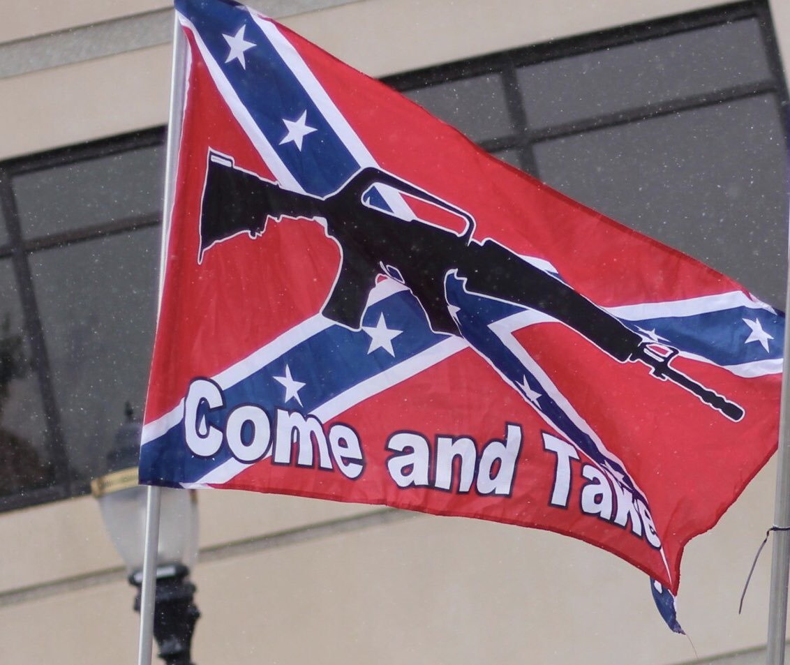 Sure seems to me that flying a Confederate flag because you are angry at your elected officials makes as much sense as a Bears fan flying a Packers flag because they don't like the choice of quarterback.