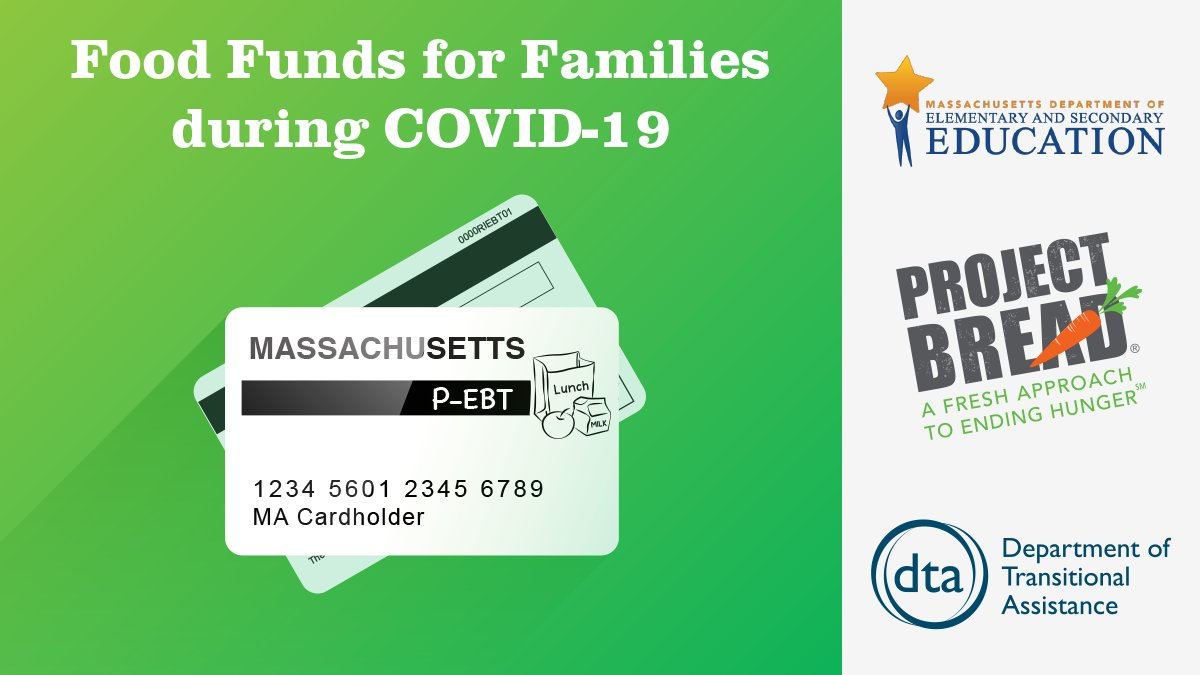 Every @BostonSchools and charter school family will receive P-EBT assistance, $28.50 per child each week to be used at grocery stores. If you have any questions, please call 311.pic.twitter.com/mXq9aGZUNB