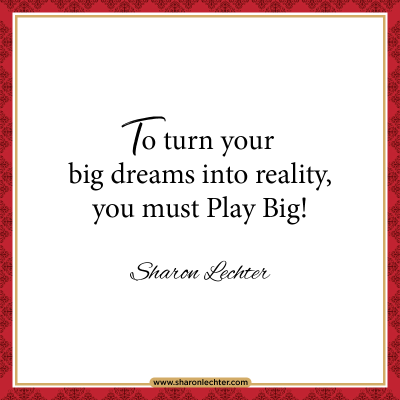 It's easy to let fear take hold; fear of failure, fear of poverty, fear of sickness. But, when we are controlled by fear, it causes us to play small. What's stopping you from #playingbig? https://t.co/SiSCdCrlWC