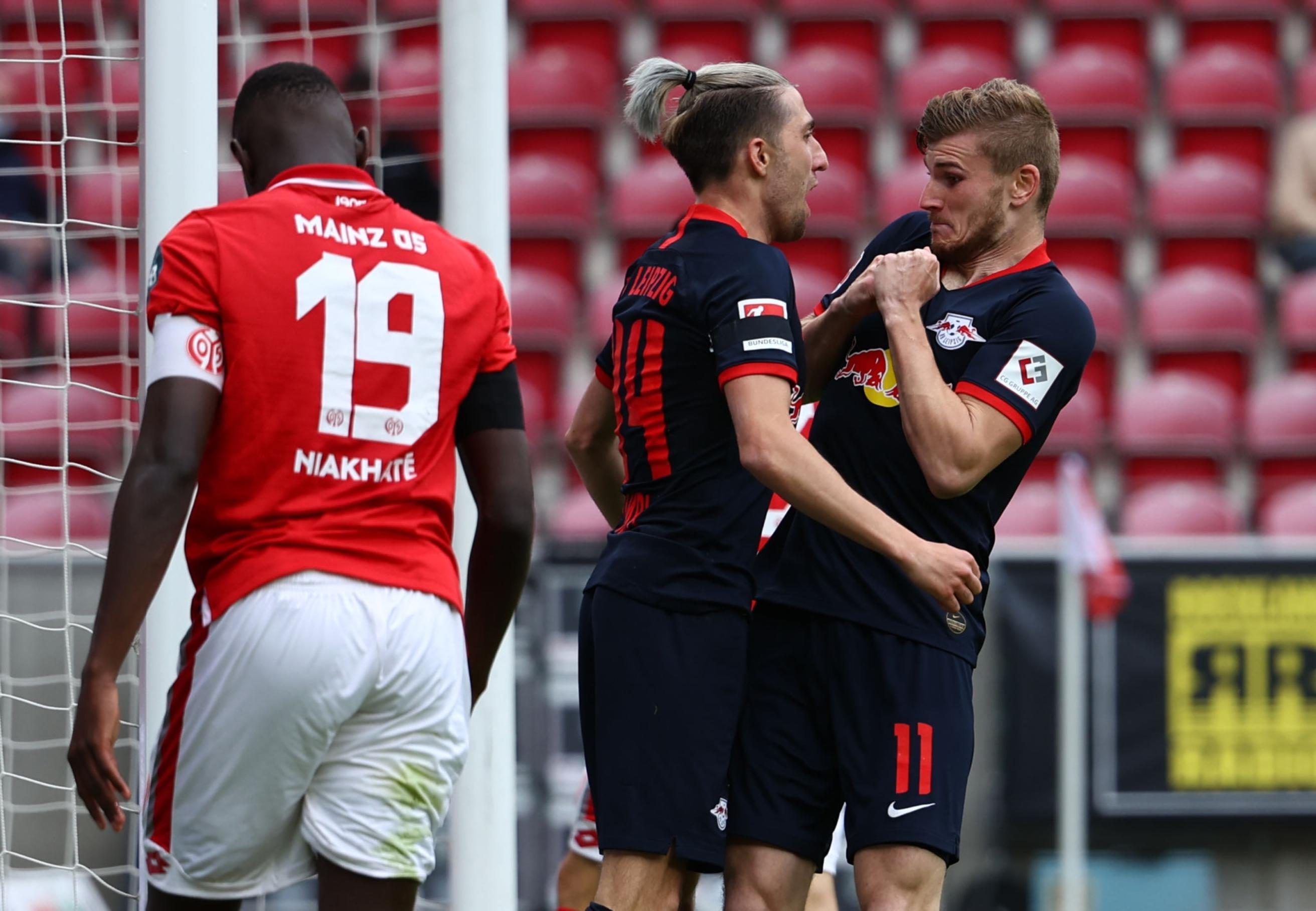Бундесліга. РБ Лейпциг любить Майнц - 13:0 за сумою двох матчів - изображение 2