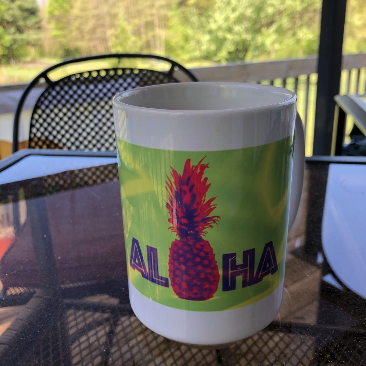 """Enjoying some @SimpaticoCoffee Black and Tan on a gorgeous #puremichigan morning, listening to @IngridAndress album """"Lady Like"""" no-skip like the way albums are supposed to be listened to."""
