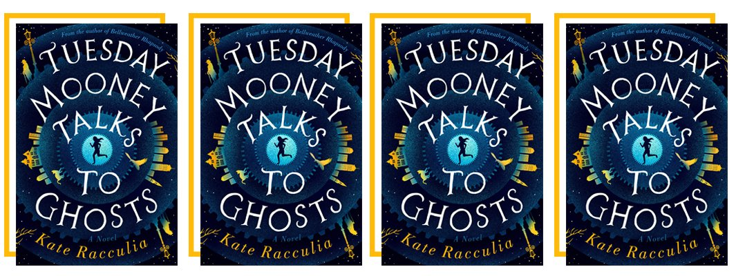 Well OF COURSE you should spend #ScavengerHuntDay with TUESDAY MOONEY TALKS TO GHOSTS by @kateracculia—it's a city-wide treasure hunt for a dead man's billions with pop culture Easter eggs galore. Have you read it? Start reading now: